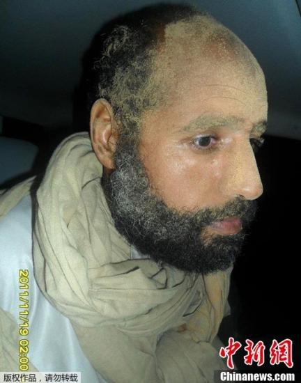 俄外交官称利法院必将判卡扎菲次子赛义夫死刑