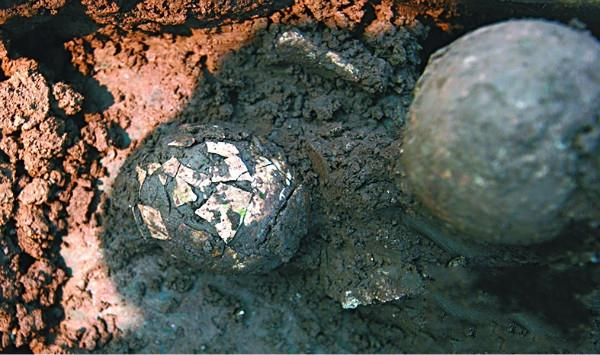 贵州赤水发现一枚汉朝鸡蛋 考古队头疼如何提取