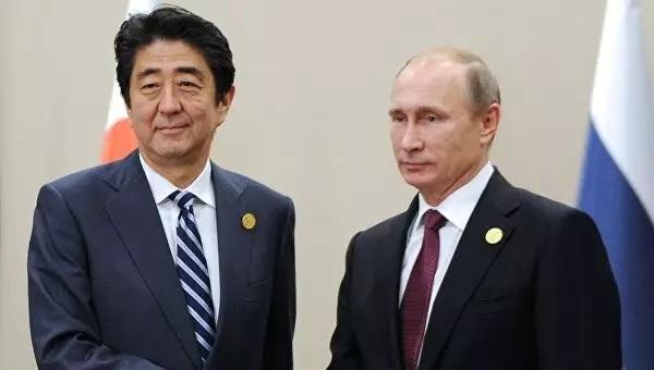 外媒称安倍笼络普京欲解决岛屿争端 并离间中俄