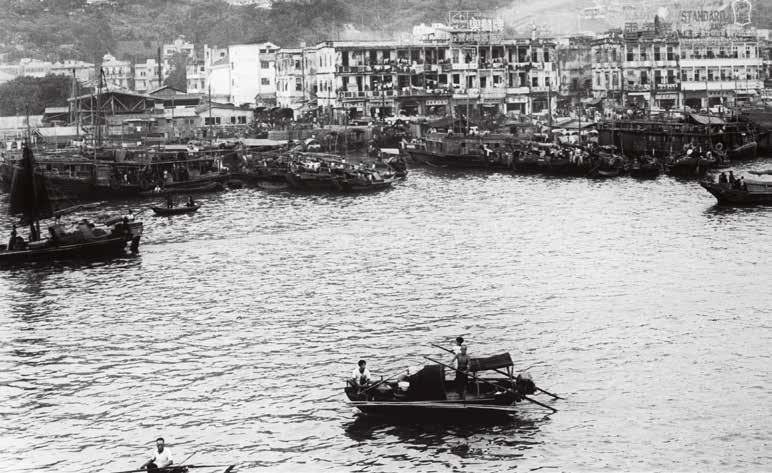 1957年,避风塘。