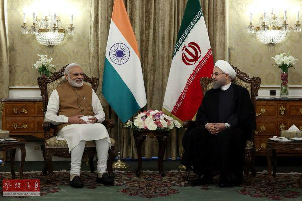 外媒评印度花费2亿美元助建伊朗港口:对抗中巴