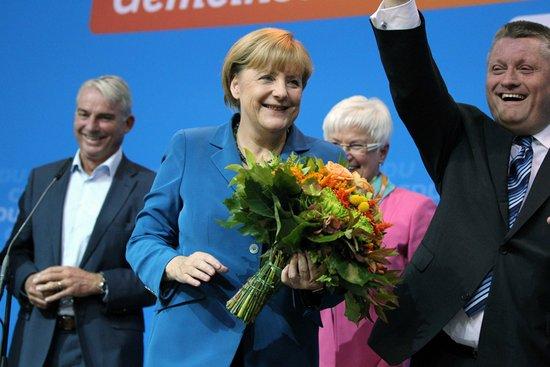 德国大选联盟党得票41.8%大胜 默克尔将连任总理