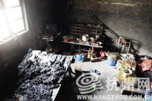父母上班将女儿锁在家 房子突起火女孩被烧死