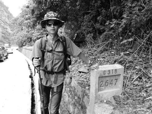 18岁男孩33天徒步行走川藏线从成都到达拉萨