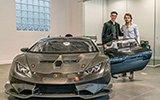 最新款兰博基尼赛车交付 车主只有14岁