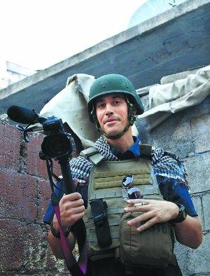 美国一名独立记者在叙利亚遭绑架(图)
