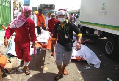 麦加朝觐踩踏事故717人死 官方:人流逆行导致