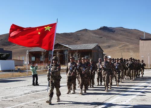 中蒙特种部队首次反恐联训在蒙古国结束