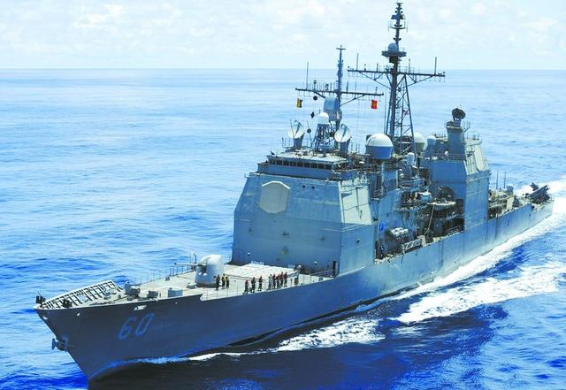 美海军开始告别巡洋舰时代 是航母编队防空核心