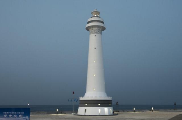 范长龙视察南沙岛礁 5个航行灯塔4个已启用