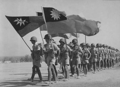 """台湾迎回远征军缅甸阵亡将士英灵入祀""""忠烈祠"""""""