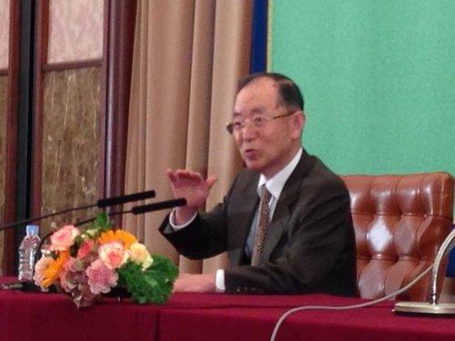 丹羽:日须承认钓岛主权争议才可改善中日关系