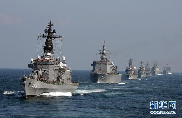 又借应对中朝搞军备 日防卫省拟新建2艘小型护卫舰
