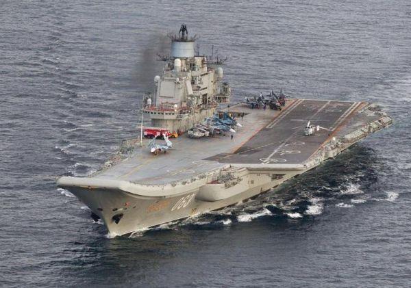 """""""库舰""""首战!外媒称俄航母战机对叙展开空袭"""