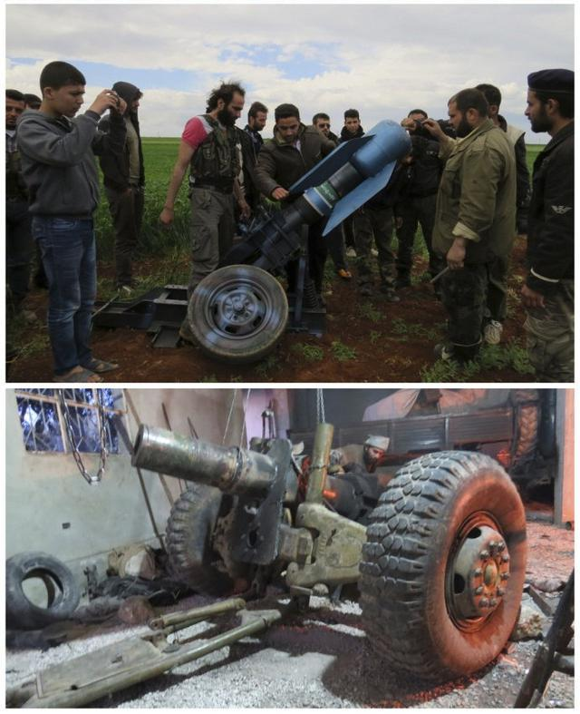 煤气罐炮弹:叙反政府军自行研制的超口径巨炮