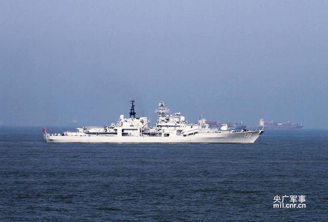 中俄海上军演进入实兵阶段 今日演练超视距攻防