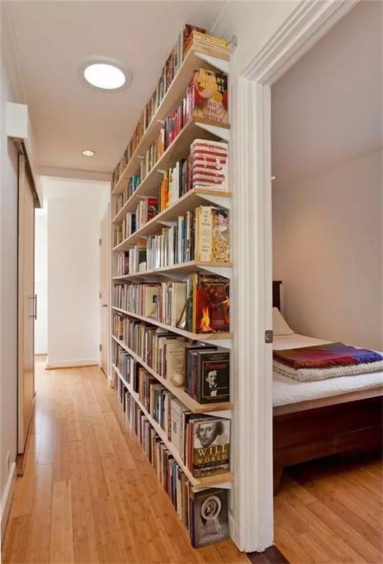 别再费劲儿整书房了 开放式书架墙才是现在的当红设计