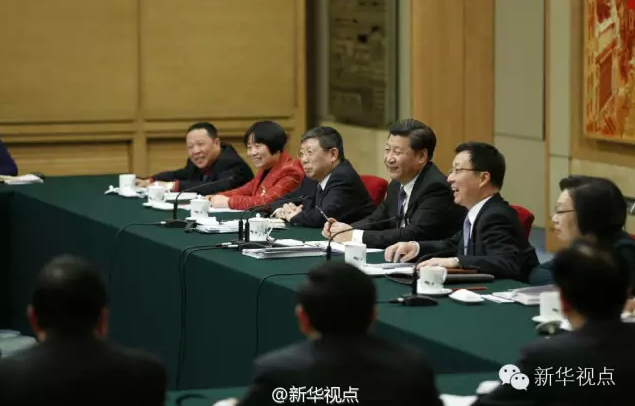 习近平2016两会时间:习近平年年到上海团,今年讲了什么?
