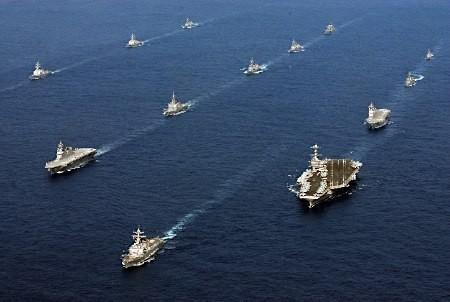 美印日将南海附近军演 美司令称有国家欺负小国