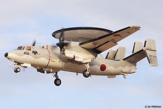 日本在冲绳部署E-2C预警机 加强对钓鱼岛监控