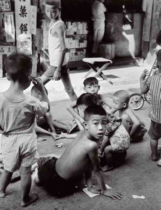 1957年,旺角。