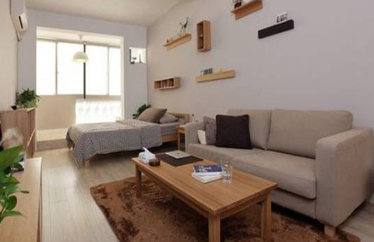 你见过如此温馨的单身公寓装修吗?
