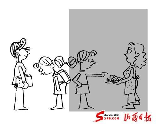 讲文明简笔画-双面娇娃 背后的隐忧 未成年人思想道德教育困境调查图片
