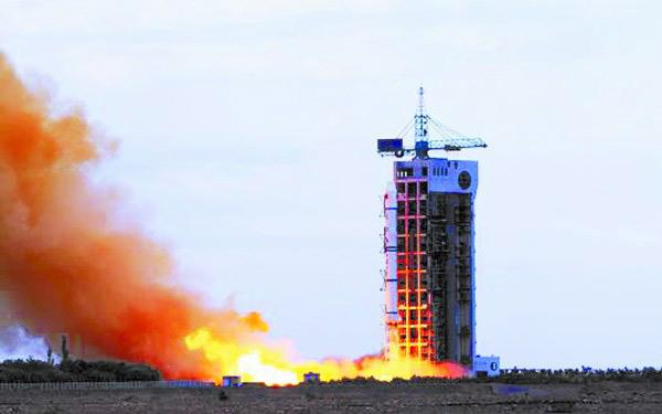 中国于27日15时成功发射实践十一号08卫星