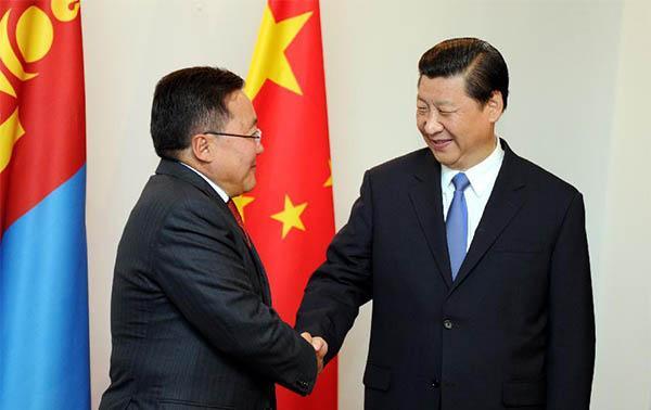 习近平出访蒙古 系中国国家元首11年来首访