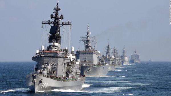 美媒称日本重新崛起为军事强国:海上战力世界前五