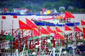 中国数千艘渔船将赴钓鱼岛海域作业(图)