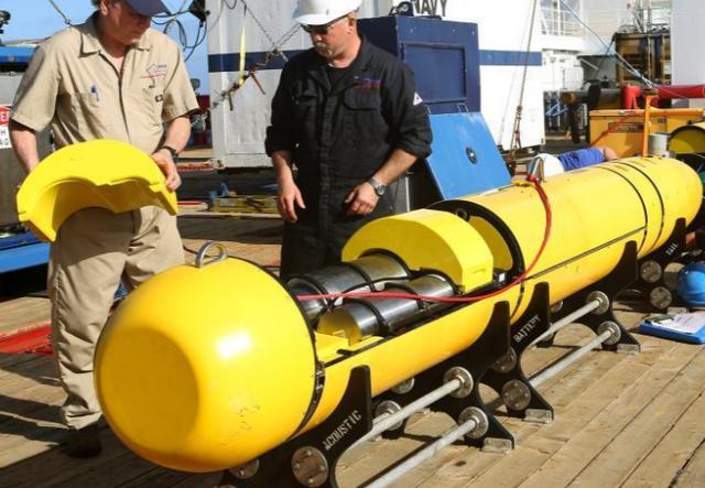 美方:中国今天将交还潜航器 或在黄岩岛附近进行