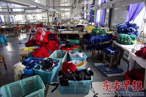 上海毒校服所用染料致癌 事件波及21所学校(图)