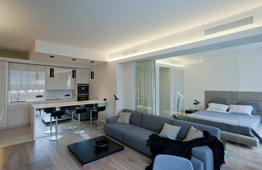 单身公寓装修效果图与攻略