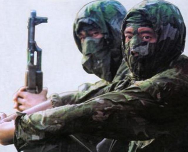 解放军迷彩服有多神:越军距离4米都没发现