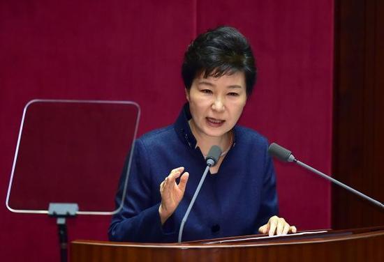 韩媒:中韩元首会晤朴槿惠感谢中国负责任