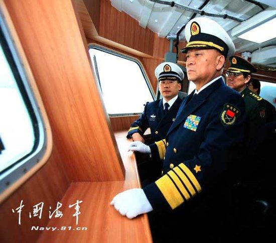 中国新型056护卫舰首舰582舰正式交付海军