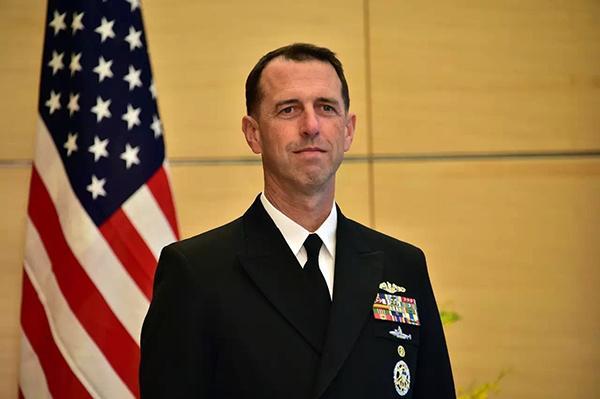 美国海军作战部长约翰·理查森上将。 资料图