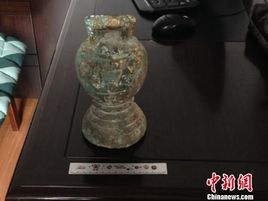 哈尔滨地区发现最大金代铜权