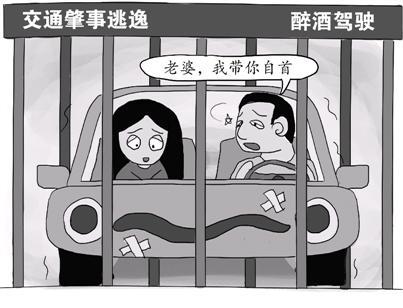 妻子肇事后逃逸 丈夫醉酒驾车送妻自首双双被拘_新闻_腾讯网 - 自由百姓 - 我的博客