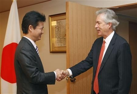 美日高官在日会谈 就共同应对中国达成一致