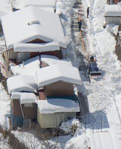 日本雪灾事故死者升至13人 北部天气恶劣(图)
