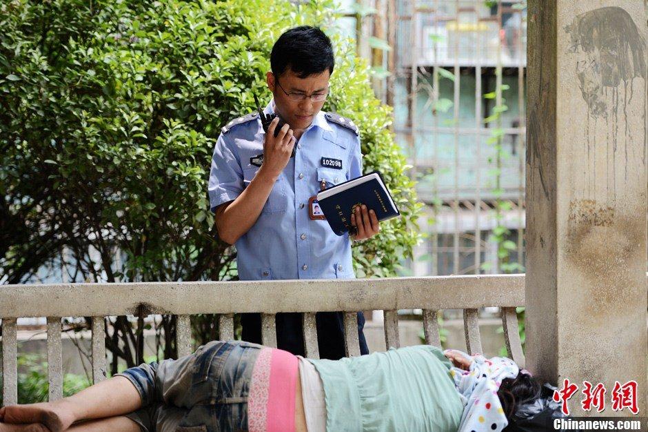 郑州街头流浪女是海归 在北京一电视台工作过(精读)