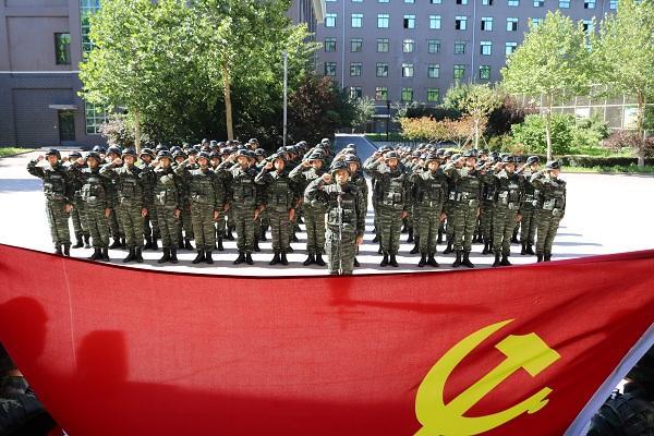 特警学院开展纪念建党95周年主题党日活动