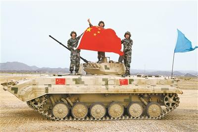 解放军包揽国际军事比赛库尔勒赛区全部冠军
