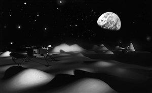 嫦娥三号或将在月球虹湾区着落 系广寒宫所在地