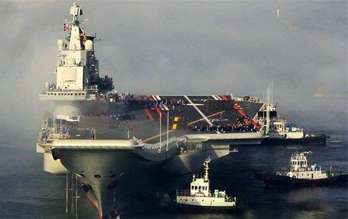 专家:中国海军首艘航母应命名为钓鱼岛号