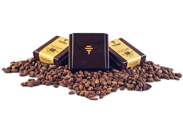 厄瓜多尔天价巧克力售价1625元 重量约40克