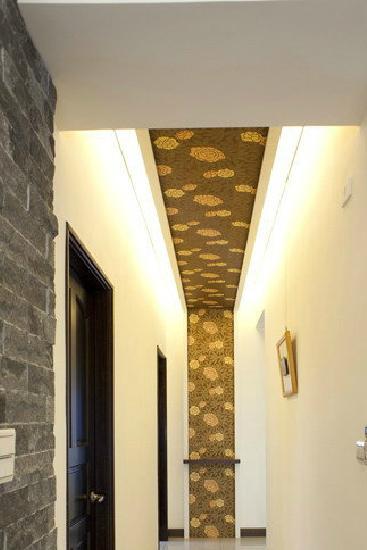 简约客厅巧装修 8款客厅走廊吊顶设计