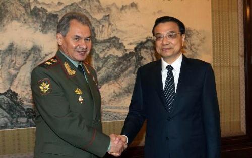 俄防长:与中国巩固联系是俄罗斯绝对优先方向